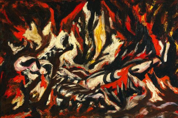Джексон Поллок. Пламя