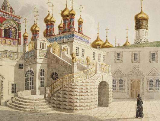 Е. Гильбертзон. Боярская площадка и храм