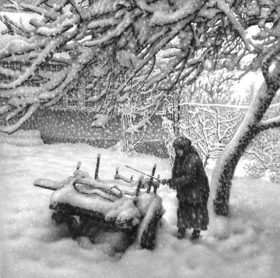 Гурам Николаевич Доленджашвили. Снегопад
