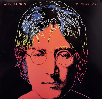 Энди Уорхол. Джон Леннон. Обложка к студийному альбому Menlove Ave.