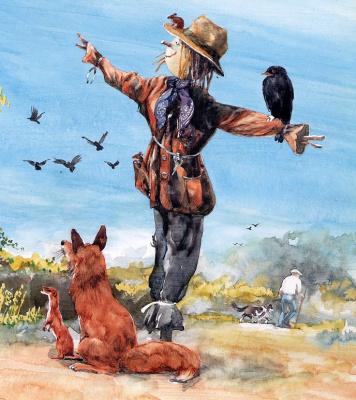 Кен Браун. Птица на чучеле
