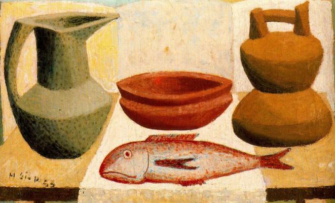 Мануэль Гиль. Посуда и рыба