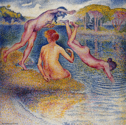Henri Edmond Cross. Bathers