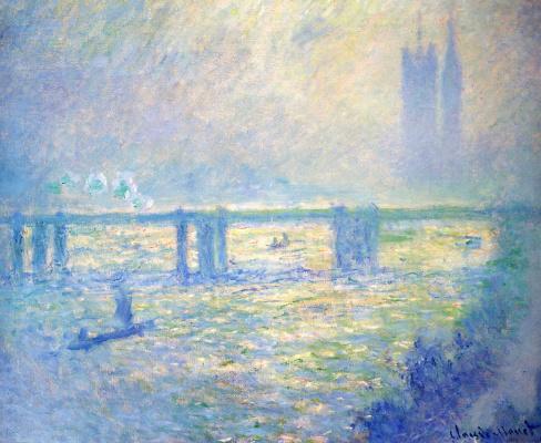 Клод Моне. Мост Чаринг-Кросс, Лондон