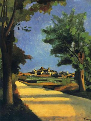 Andre Derain. Road