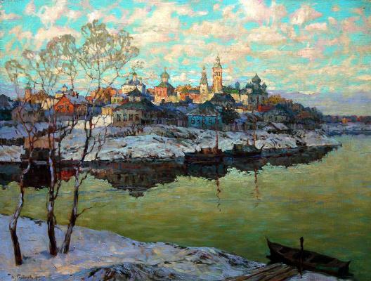 Константин Иванович Горбатов. Ранняя весна