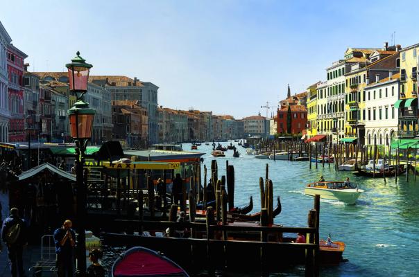 Рафаэлла Спенс. Венеция. Лодки
