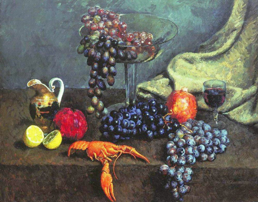 Ilya Ivanovich Mashkov. Eatables Moscow. Fruit