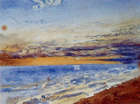 John Ruskin. Seascape