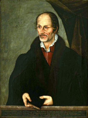 Portrait of Philip Melanchthon. National Museum, Warsaw.