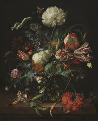 Ян Давидс де Хем. Ваза с цветами