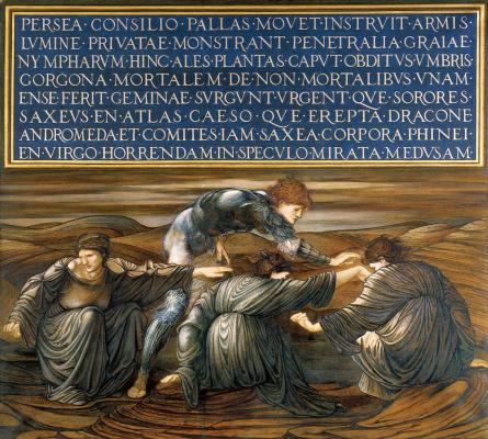 Edward Coley Burne-Jones. Perseus and Graya