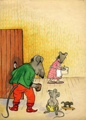 О мышонке-4
