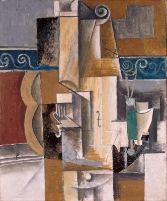 Пабло Пикассо. Гитара и скрипка