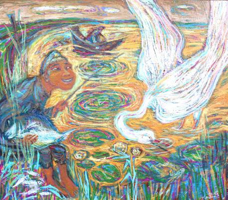 Alexander (Александр) Stepanovish (Степанович) Shynin (Шинин). Golden lake