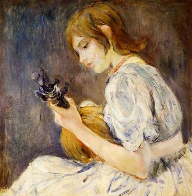 Berthe Morisot. Mandolin