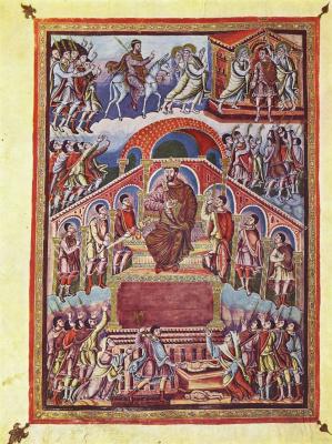 Соломон Ингобертус. Царь Соломон. Библия Карла Кахлена