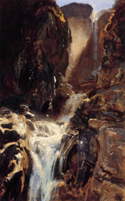 John Singer Sargent. Waterfall