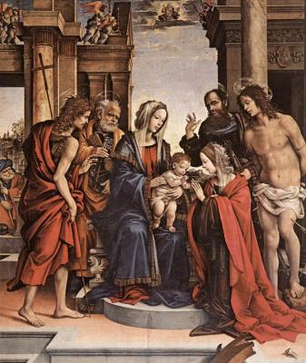 Filippino Lippi. Marriage Of St. Catherine