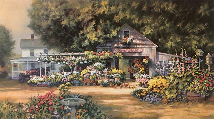 Пол Ландри. Сад