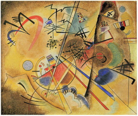Wassily Kandinsky. A small dream in red