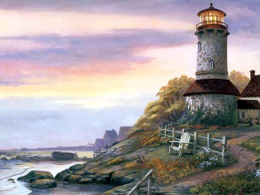Майкл Хамфрис. Башня на краю