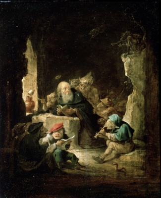 David Teniers the Younger. The Temptation of St. Anthony