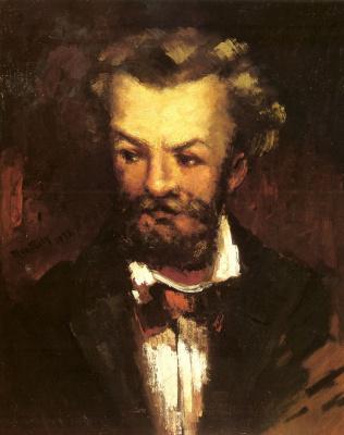 Михай Либ Мункач. Автопортрет художника