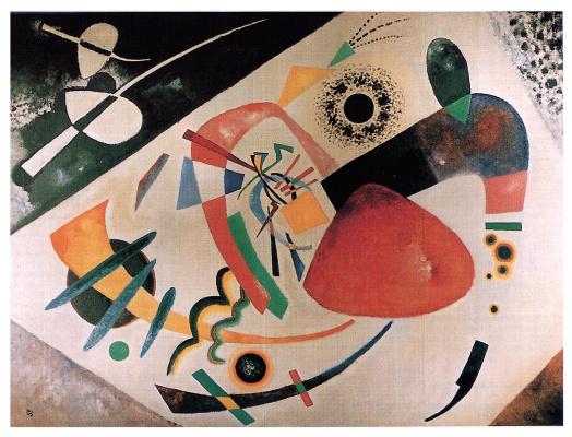 Wassily Kandinsky. Red spot II