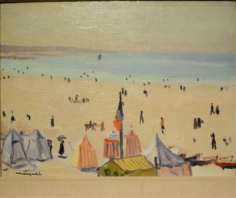 Albert Marquet. Beach.