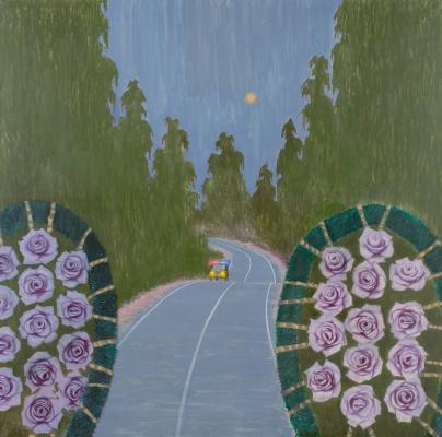 Alexander Vsevolodovich Yakut. Blue roses