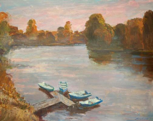 Андрей Александрович Кугаевский. Утро на реке