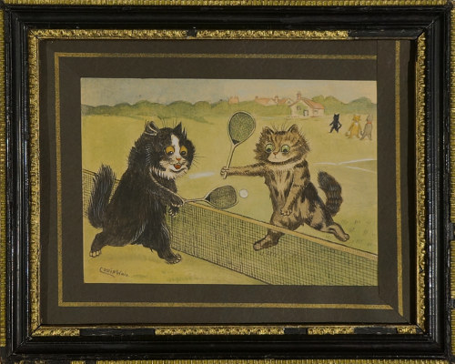 Louis Wain. Tennis