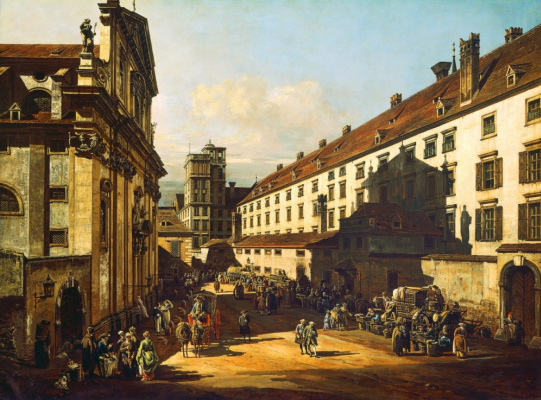 Bernardo Bellotto. Vienna. The urban landscape