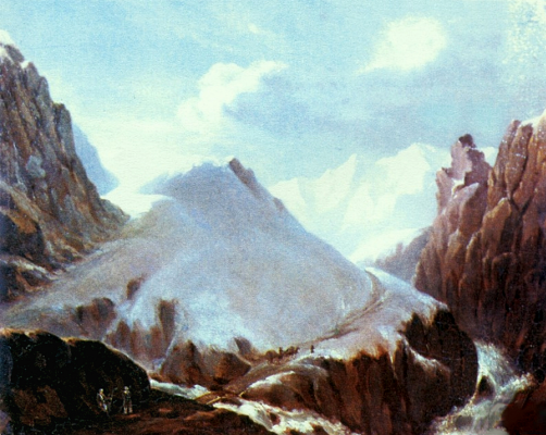 Mikhail Yurjevich Lermontov. View of Mount Krestovoi.