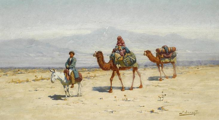 Richard-Karl Karlovich Sommer. Eastern travelers