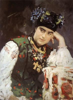 Valentin Aleksandrovich Serov. Portrait Of S. M. Dragomirova