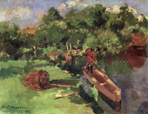 Konstantin Korovin. Landscape