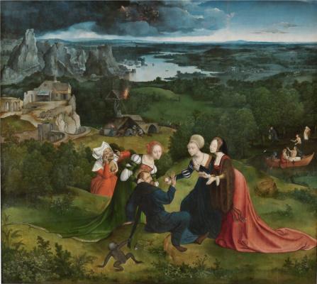 Quentin Masseys. Temptation of St. Anthony