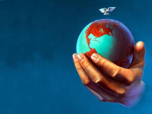 Джим Уоррен. Земной шар