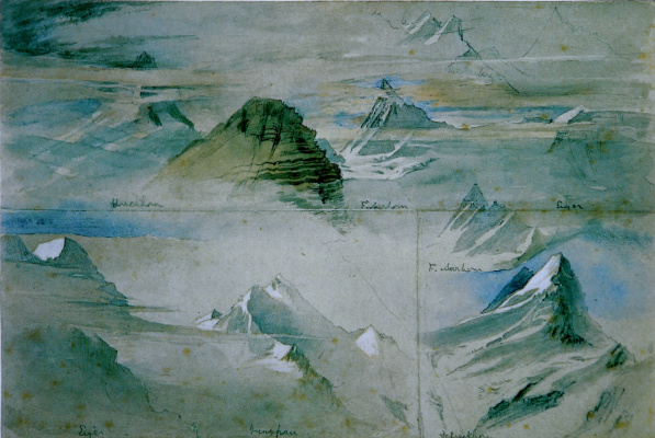 Джон Рёскин. Альпийские пики