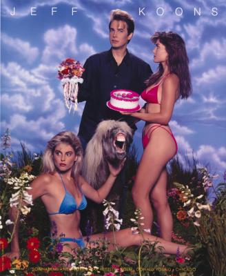 "Джефф Кунс. With flowers. Project for magazine ""Art of America"""