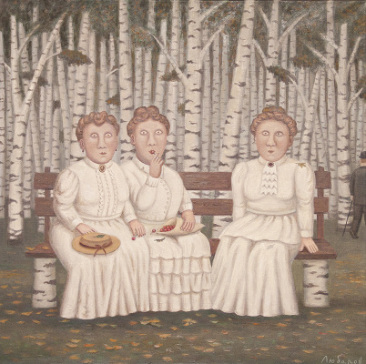 "Vladimir Semenovich Lyubarov. ""Three Sisters"", Chekhov. Series ""Year of Theater in the village of Peremilovo"""