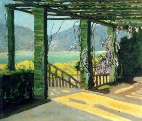 Winston Churchill. Villa on the Riviera.