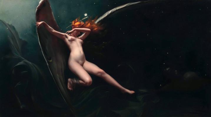 Луис Рикардо Фалеро. Фея под звездным небом