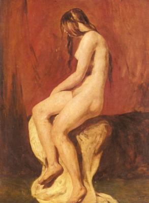 Etty William. Sketch Nude