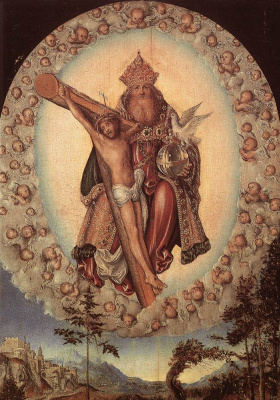 Lucas Cranes the Elder. Resurrection