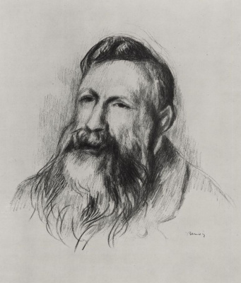 Pierre-Auguste Renoir. Self-portrait