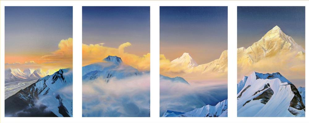 Valery Ivanovich Grachev. The Himalayas, cover