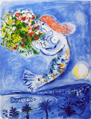 Marc Chagall. The Bay Of Angels